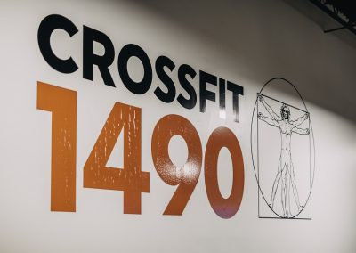 Our Logo Wall - CrossFit 1490